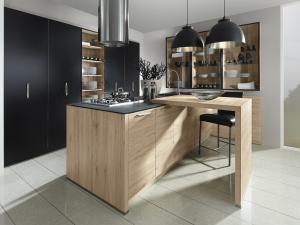 700-01. Trend noir & Sincrono chêne San Remo