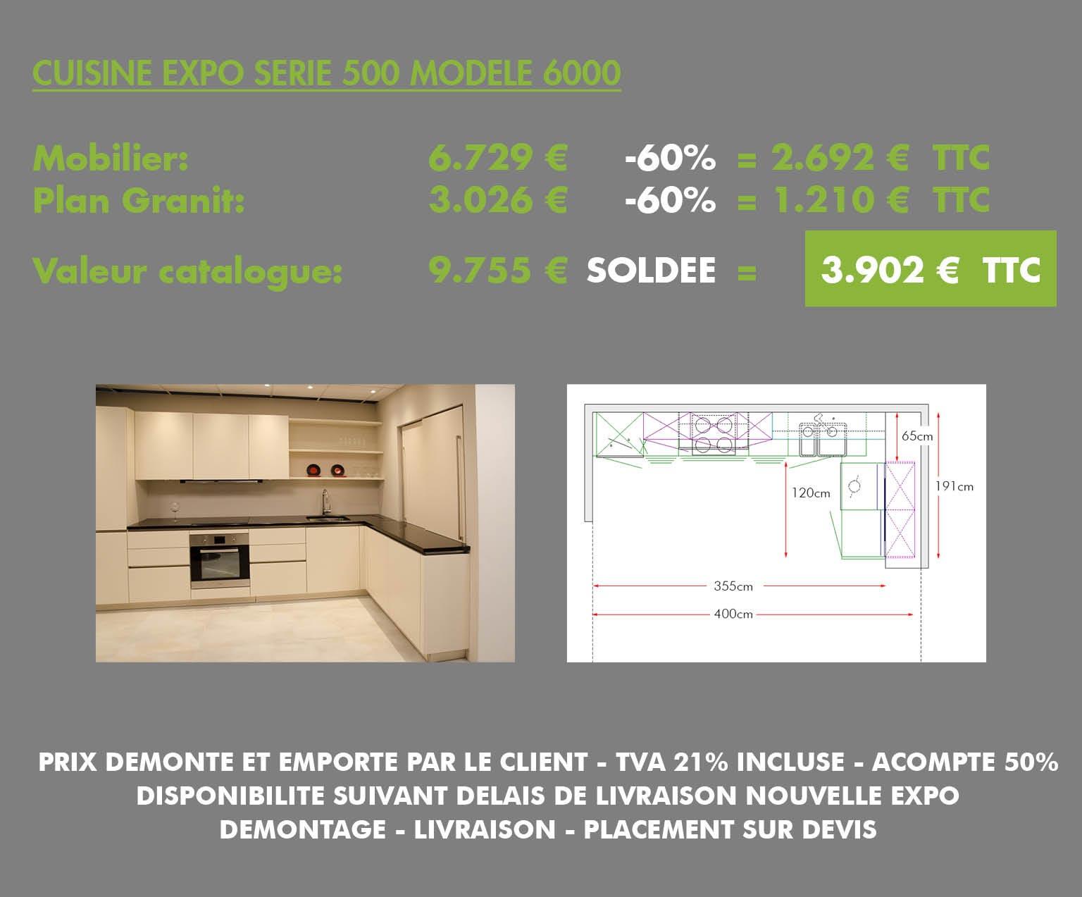Oolin meubles et lectro d 39 exposition en soldes actions for Cuisine configuration